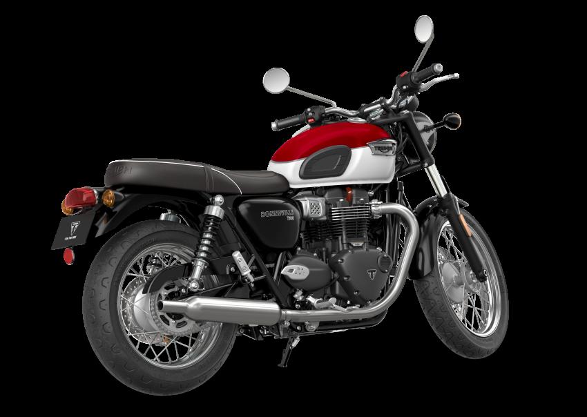 2021 Triumph Bonneville range gets model updates Image #1253103
