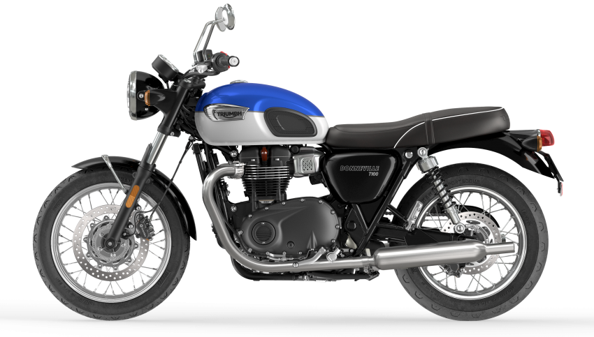 2021 Triumph Bonneville range gets model updates Image #1253111