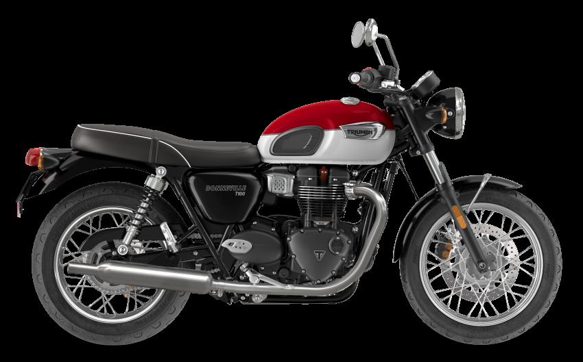 2021 Triumph Bonneville range gets model updates Image #1253113