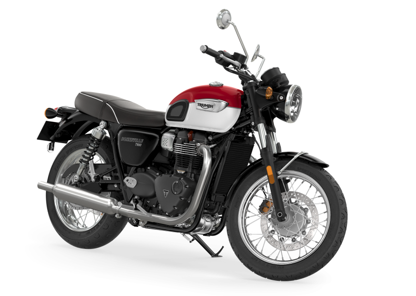 2021 Triumph Bonneville range gets model updates Image #1253106