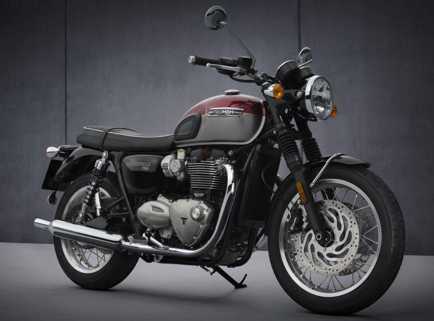 2021 Triumph Bonneville range gets model updates Image #1253064