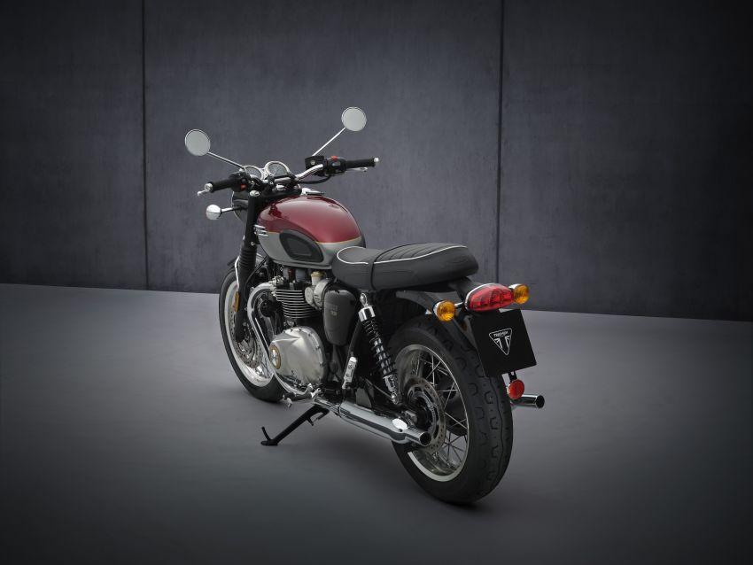 2021 Triumph Bonneville range gets model updates Image #1253067