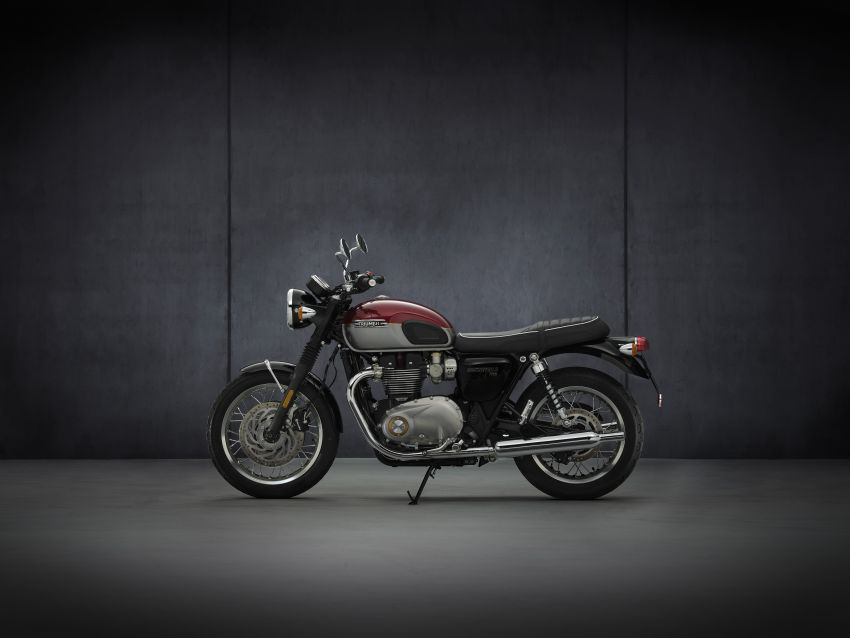 2021 Triumph Bonneville range gets model updates Image #1253068