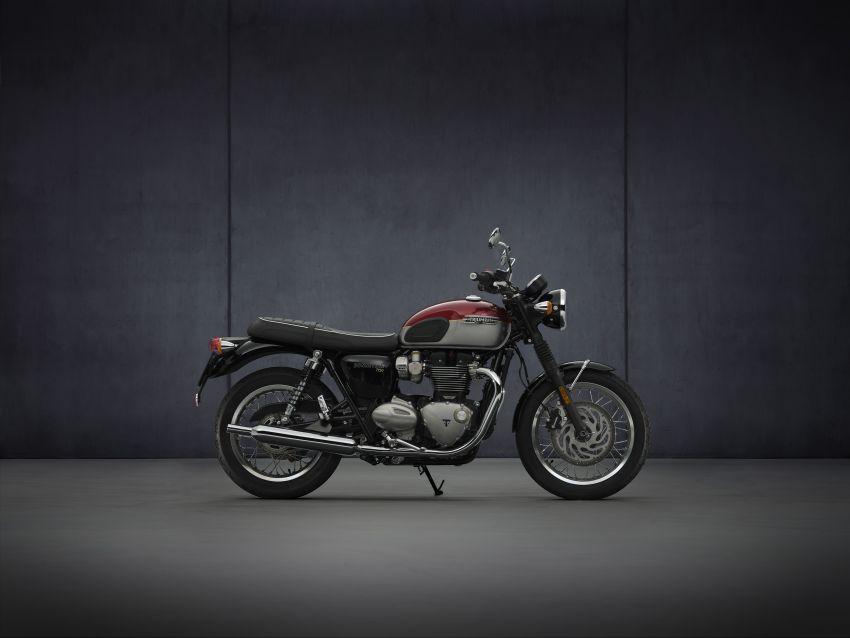 2021 Triumph Bonneville range gets model updates Image #1253069