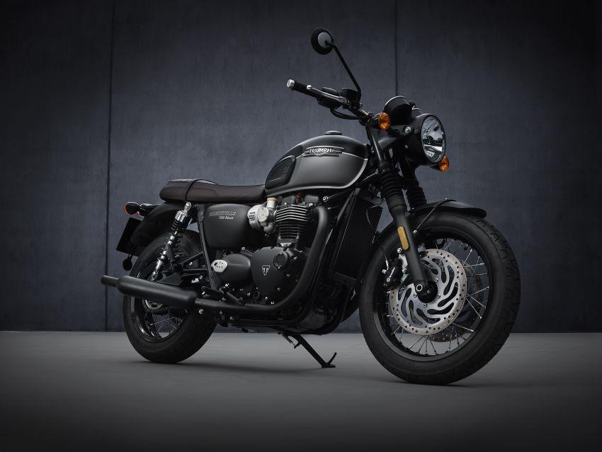 2021 Triumph Bonneville range gets model updates Image #1253117