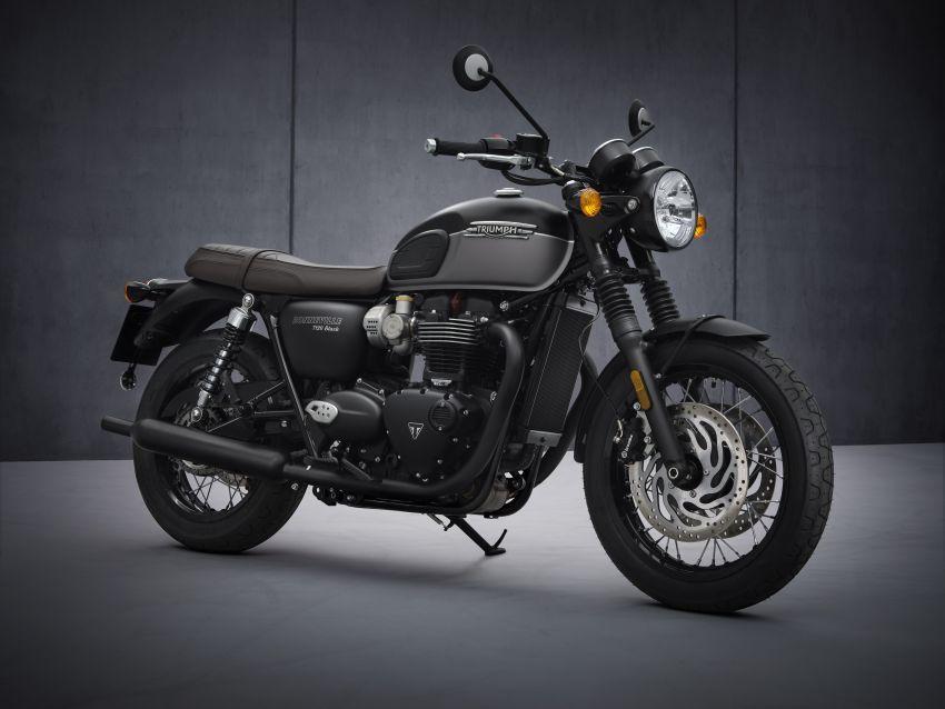 2021 Triumph Bonneville range gets model updates Image #1253118