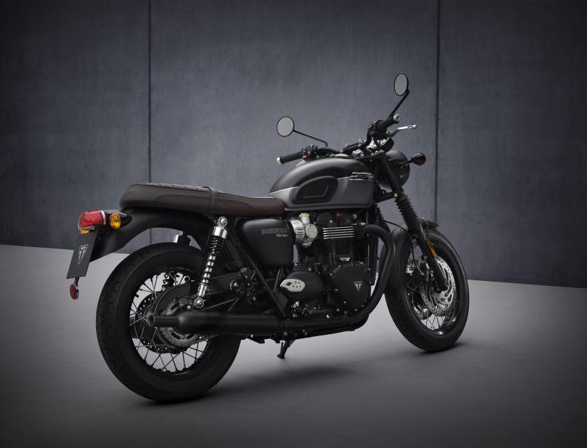 2021 Triumph Bonneville range gets model updates Image #1253119