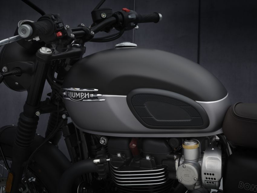 2021 Triumph Bonneville range gets model updates Image #1253123
