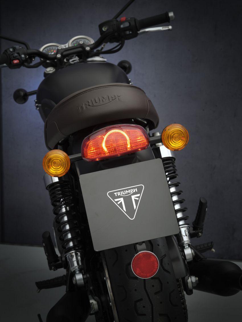 2021 Triumph Bonneville range gets model updates Image #1253125