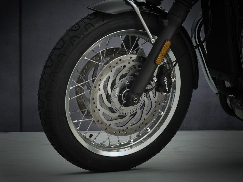 2021 Triumph Bonneville range gets model updates Image #1253091
