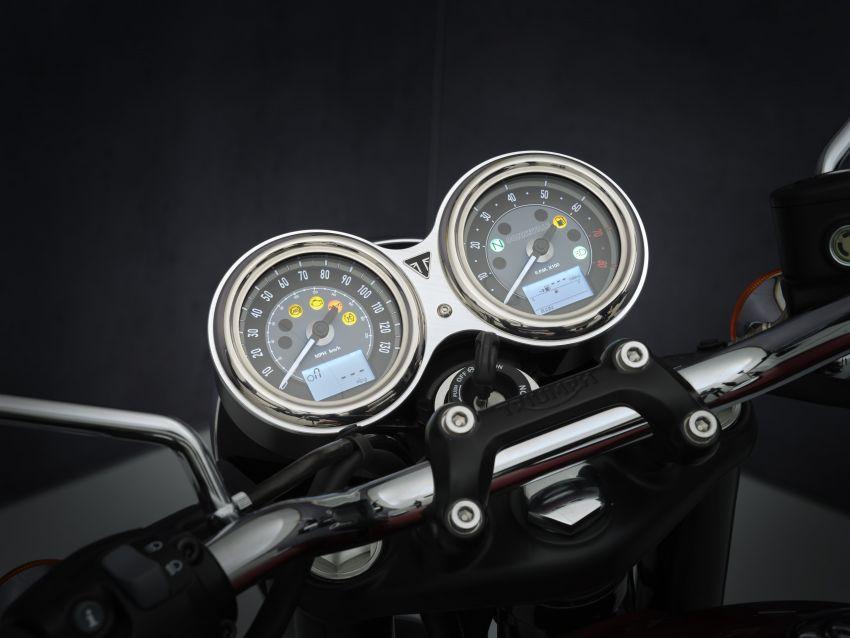 2021 Triumph Bonneville range gets model updates Image #1253093