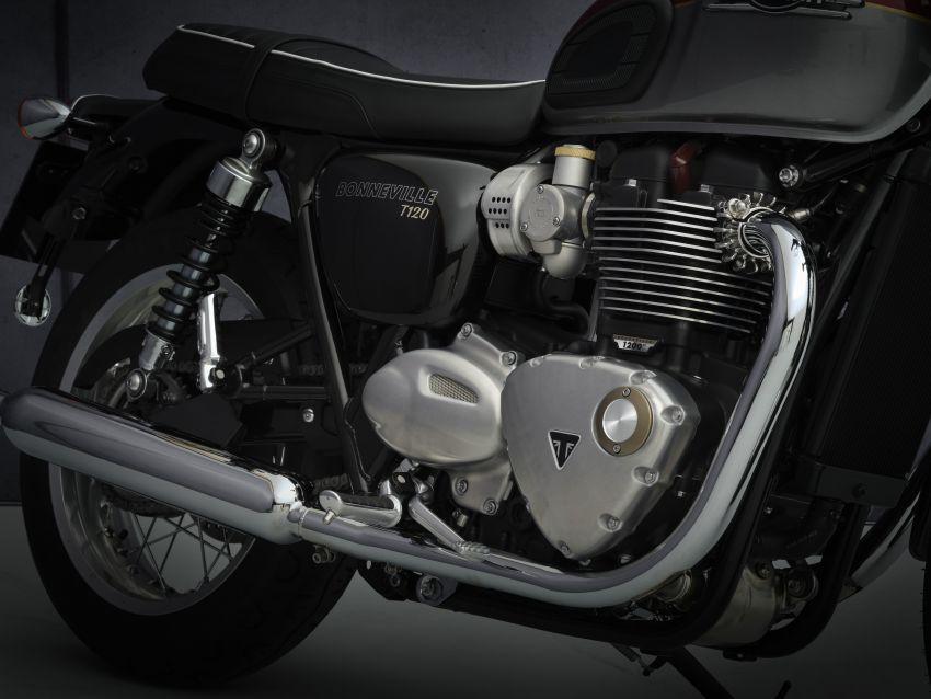 2021 Triumph Bonneville range gets model updates Image #1253095