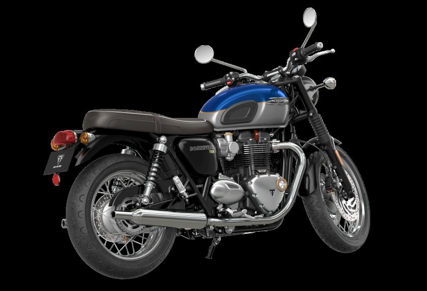 2021 Triumph Bonneville range gets model updates Image #1253074