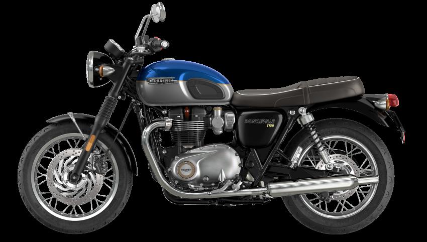 2021 Triumph Bonneville range gets model updates Image #1253085