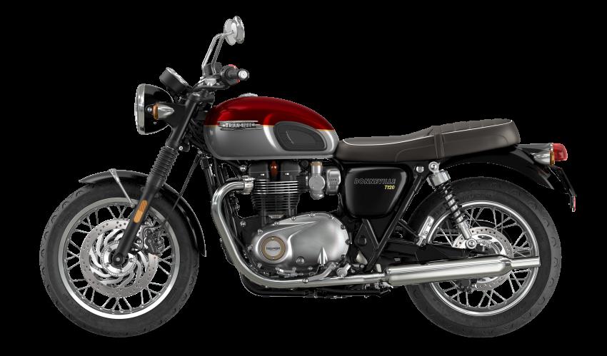 2021 Triumph Bonneville range gets model updates Image #1253086