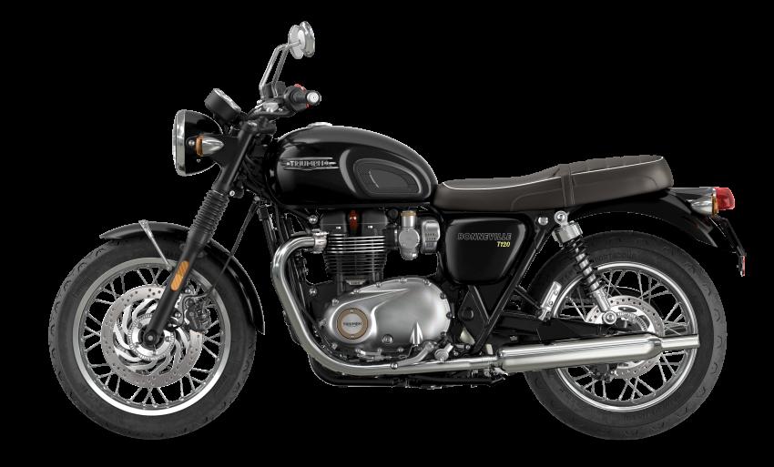 2021 Triumph Bonneville range gets model updates Image #1253087