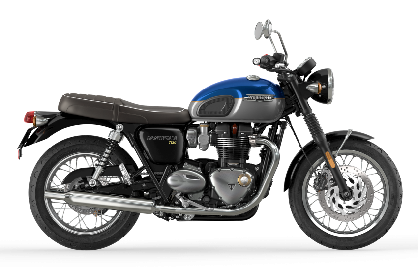 2021 Triumph Bonneville range gets model updates Image #1253088
