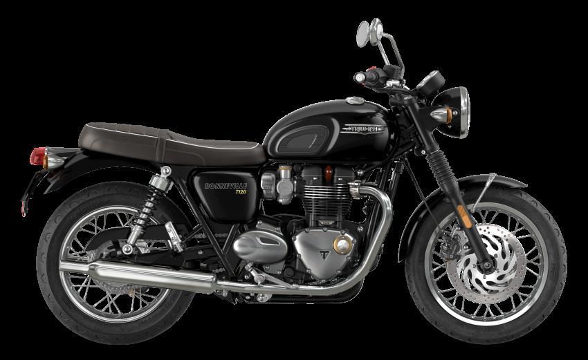 2021 Triumph Bonneville range gets model updates Image #1253090