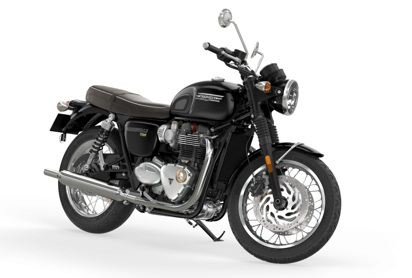 2021 Triumph Bonneville range gets model updates Image #1253081