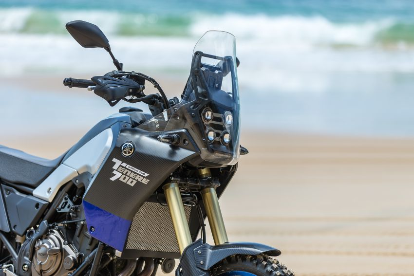 2021 Yamaha Tenere 700 available with lowering kit Image #1250276