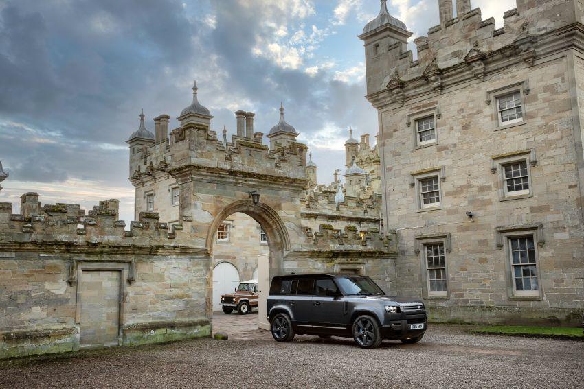 2022 Land Rover Defender V8 – 525 PS, 625 Nm; model range gets optional 11.4-inch touchscreen upgrade Image #1253687