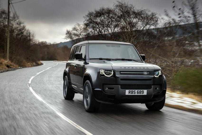 2022 Land Rover Defender V8 – 525 PS, 625 Nm; model range gets optional 11.4-inch touchscreen upgrade Image #1253679