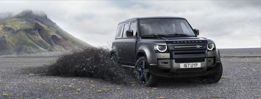 2022 Land Rover Defender V8 – 525 PS, 625 Nm; model range gets optional 11.4-inch touchscreen upgrade Image #1253869