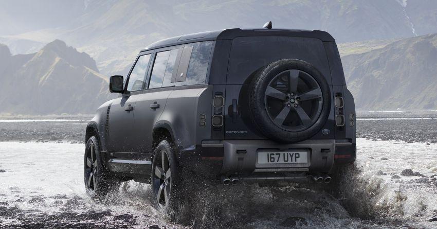 2022 Land Rover Defender V8 – 525 PS, 625 Nm; model range gets optional 11.4-inch touchscreen upgrade Image #1253867