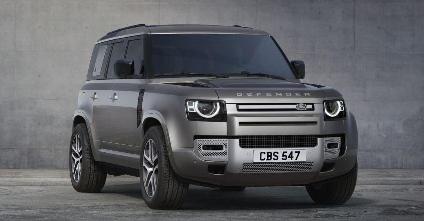 2022 Land Rover Defender V8 – 525 PS, 625 Nm; model range gets optional 11.4-inch touchscreen upgrade Image #1253872