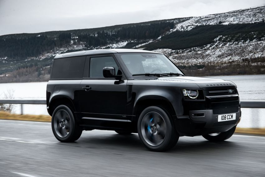 2022 Land Rover Defender V8 – 525 PS, 625 Nm; model range gets optional 11.4-inch touchscreen upgrade Image #1253691
