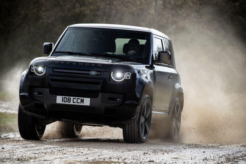2022 Land Rover Defender V8 – 525 PS, 625 Nm; model range gets optional 11.4-inch touchscreen upgrade Image #1253696