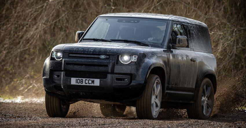 2022 Land Rover Defender V8 – 525 PS, 625 Nm; model range gets optional 11.4-inch touchscreen upgrade Image #1253698