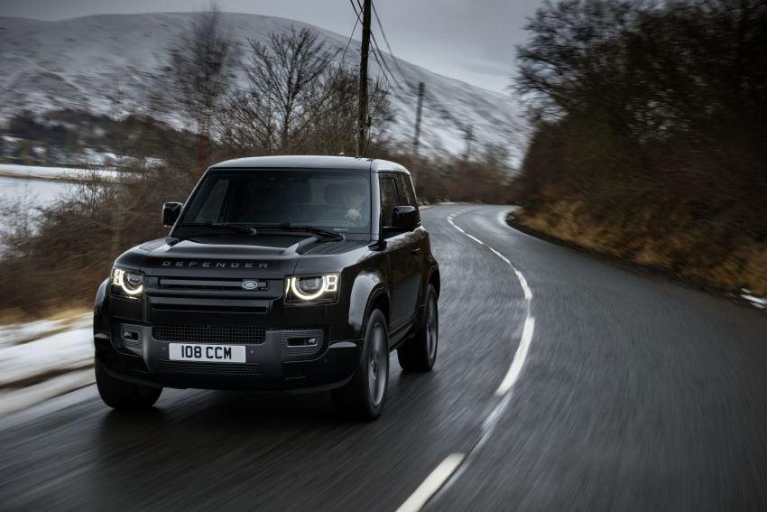 2022 Land Rover Defender V8 – 525 PS, 625 Nm; model range gets optional 11.4-inch touchscreen upgrade Image #1253711