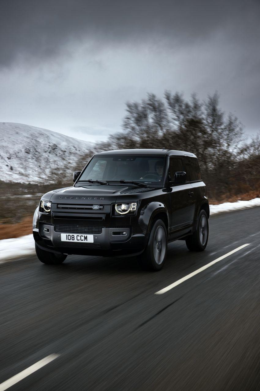 2022 Land Rover Defender V8 – 525 PS, 625 Nm; model range gets optional 11.4-inch touchscreen upgrade Image #1253712