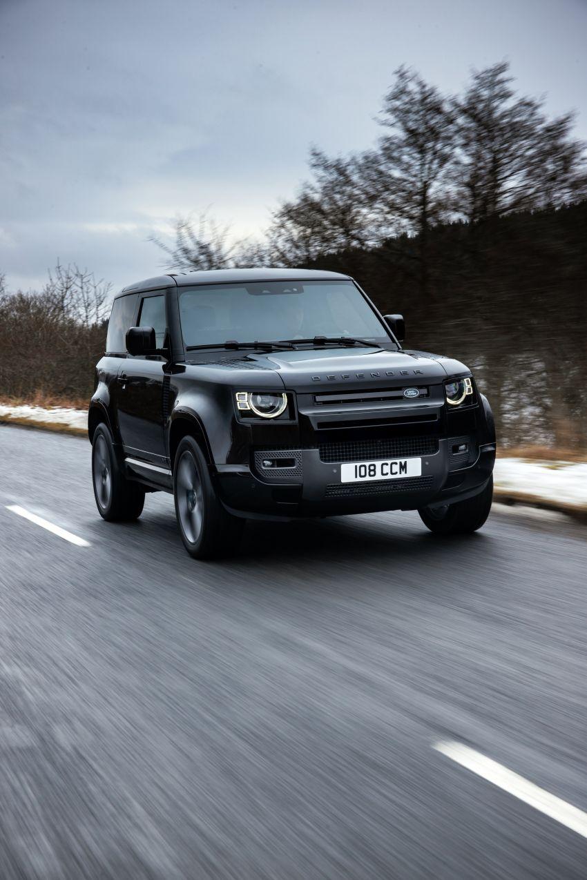 2022 Land Rover Defender V8 – 525 PS, 625 Nm; model range gets optional 11.4-inch touchscreen upgrade Image #1253716