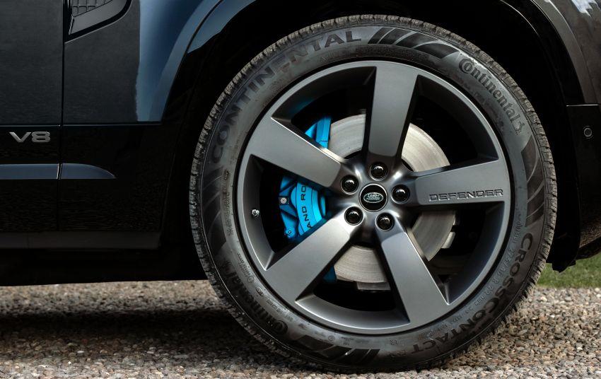 2022 Land Rover Defender V8 – 525 PS, 625 Nm; model range gets optional 11.4-inch touchscreen upgrade Image #1253811