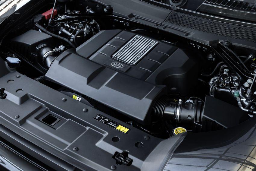 2022 Land Rover Defender V8 – 525 PS, 625 Nm; model range gets optional 11.4-inch touchscreen upgrade Image #1253807