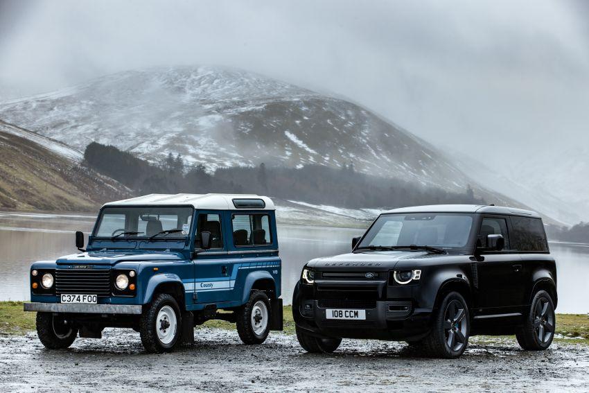 2022 Land Rover Defender V8 – 525 PS, 625 Nm; model range gets optional 11.4-inch touchscreen upgrade Image #1253743