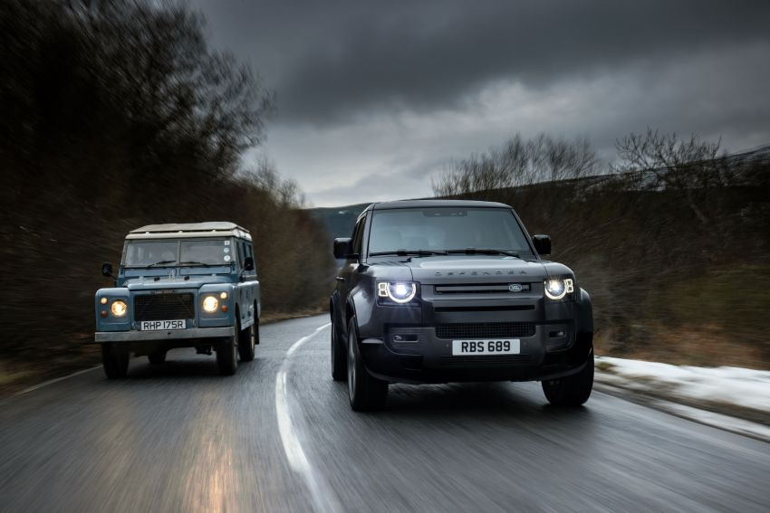 2022 Land Rover Defender V8 – 525 PS, 625 Nm; model range gets optional 11.4-inch touchscreen upgrade Image #1253739