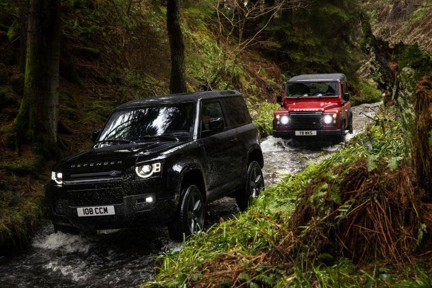 2022 Land Rover Defender V8 – 525 PS, 625 Nm; model range gets optional 11.4-inch touchscreen upgrade Image #1253735