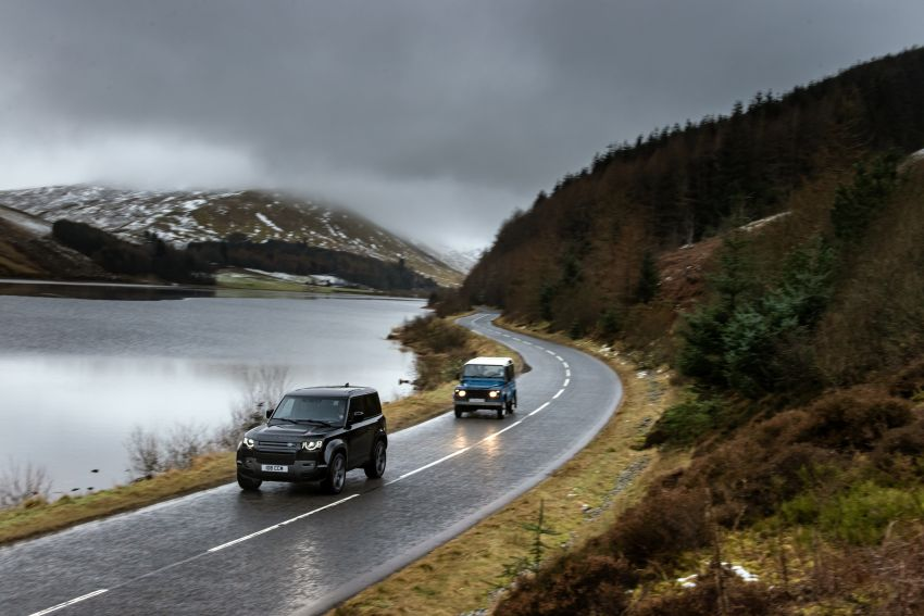 2022 Land Rover Defender V8 – 525 PS, 625 Nm; model range gets optional 11.4-inch touchscreen upgrade Image #1253734