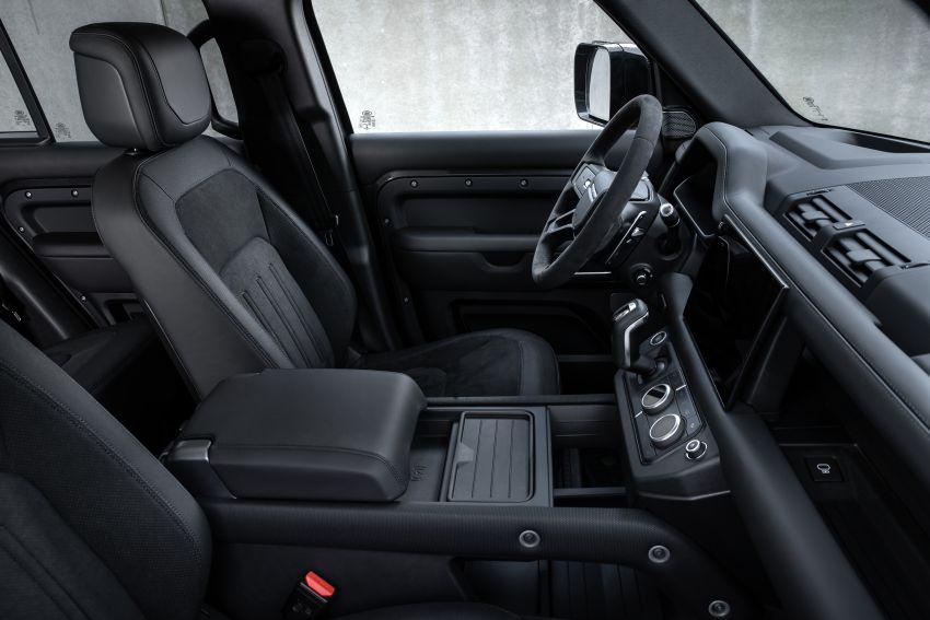 2022 Land Rover Defender V8 – 525 PS, 625 Nm; model range gets optional 11.4-inch touchscreen upgrade Image #1253805