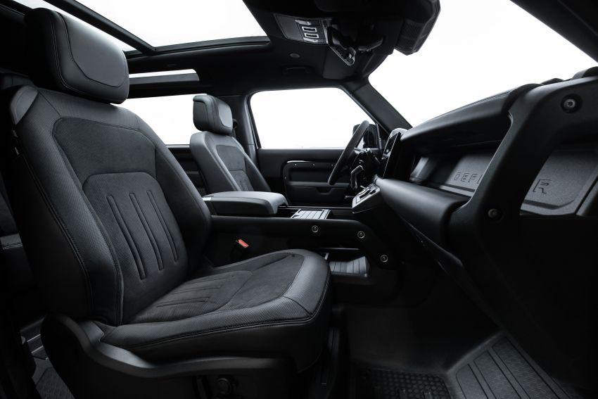 2022 Land Rover Defender V8 – 525 PS, 625 Nm; model range gets optional 11.4-inch touchscreen upgrade Image #1253801