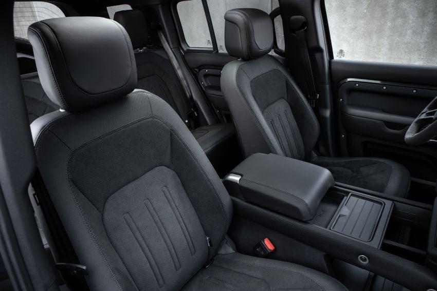 2022 Land Rover Defender V8 – 525 PS, 625 Nm; model range gets optional 11.4-inch touchscreen upgrade Image #1253798
