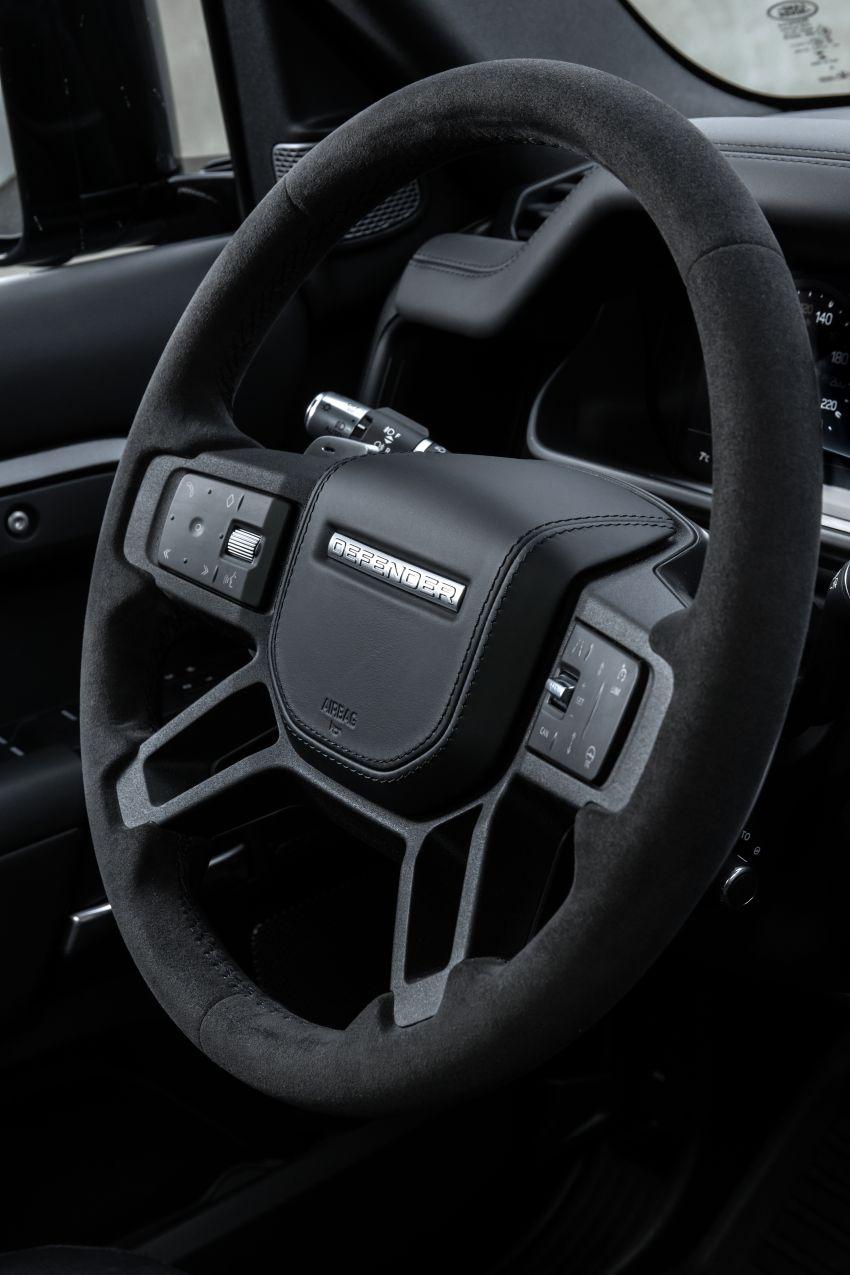 2022 Land Rover Defender V8 – 525 PS, 625 Nm; model range gets optional 11.4-inch touchscreen upgrade Image #1253795