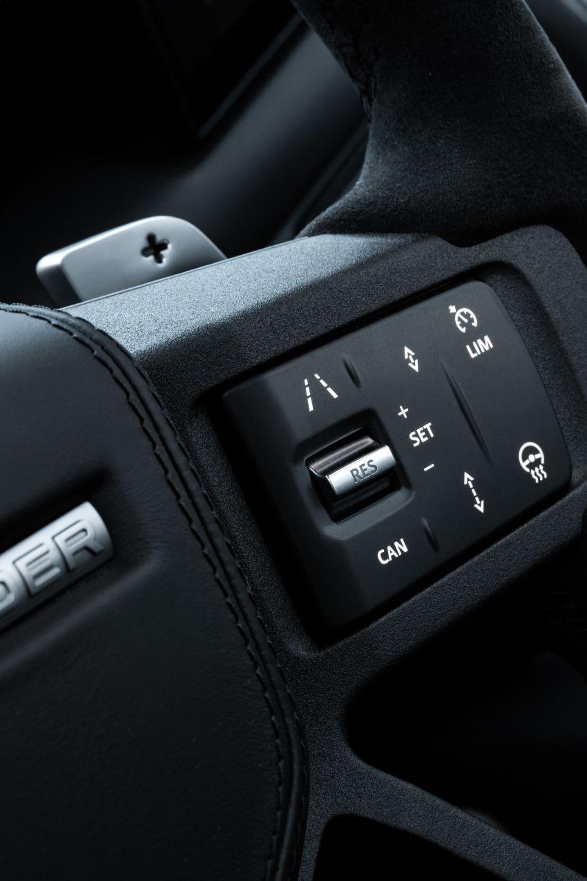 2022 Land Rover Defender V8 – 525 PS, 625 Nm; model range gets optional 11.4-inch touchscreen upgrade Image #1253792
