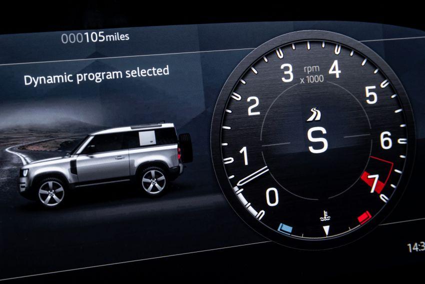 2022 Land Rover Defender V8 – 525 PS, 625 Nm; model range gets optional 11.4-inch touchscreen upgrade Image #1253788