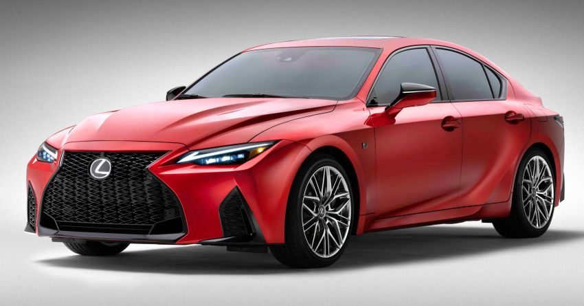 2022 Lexus IS 500 F Sport Performance revealed – sports sedan with a 5.0L NA V8; 472 hp and 535 Nm Image #1252055