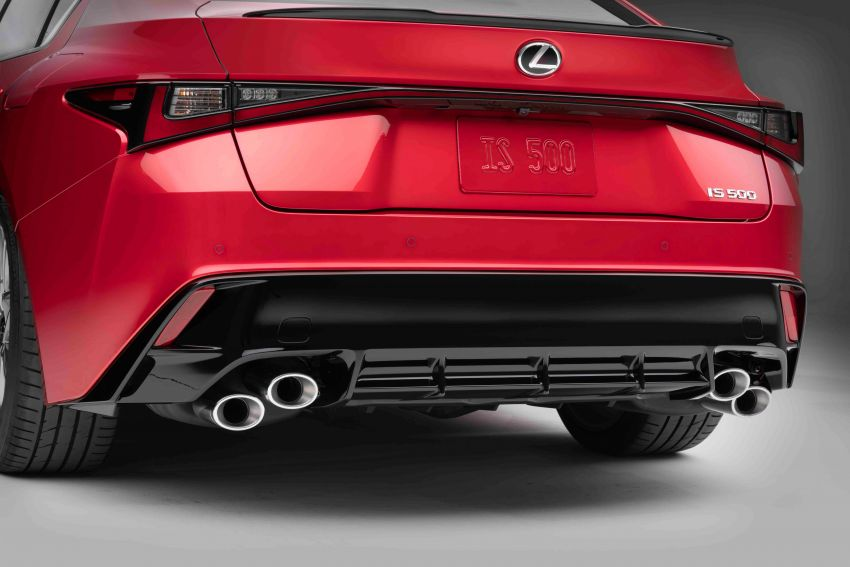 2022 Lexus IS 500 F Sport Performance revealed – sports sedan with a 5.0L NA V8; 472 hp and 535 Nm Image #1252069