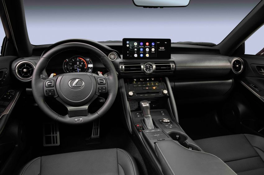 2022 Lexus IS 500 F Sport Performance revealed – sports sedan with a 5.0L NA V8; 472 hp and 535 Nm Image #1252080